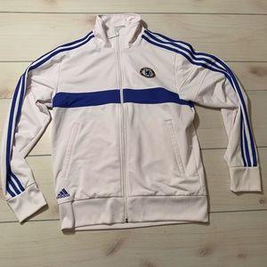mens M Adidas Chelsea Football Club sweatshirt